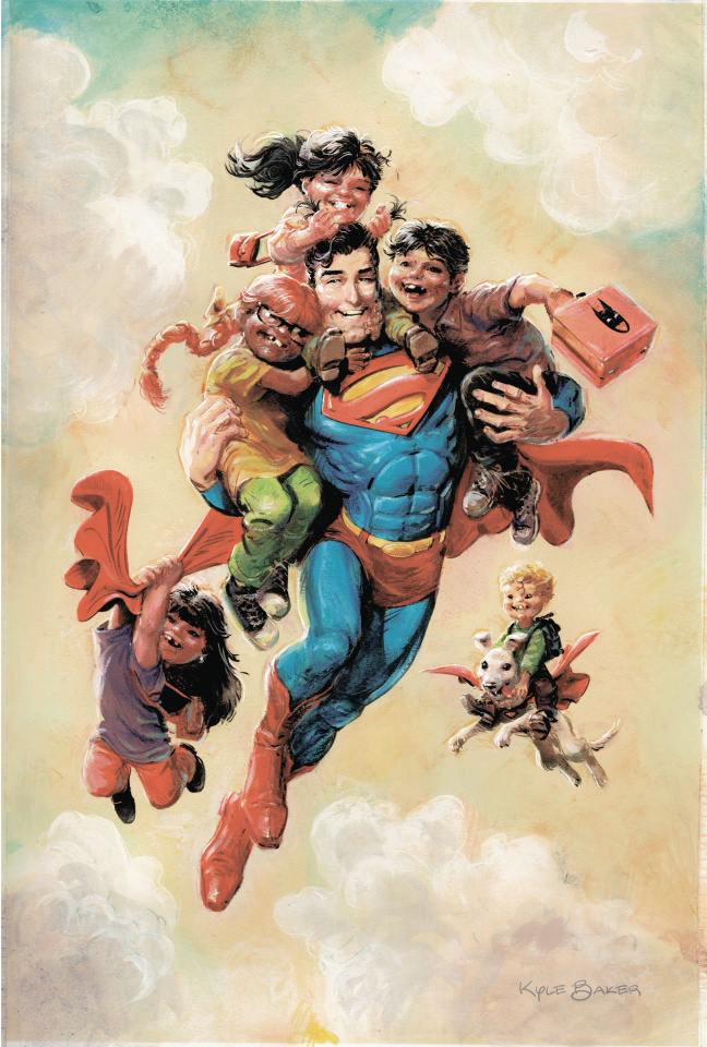 Superman Smashes the Klan #1 (Variant Cover)