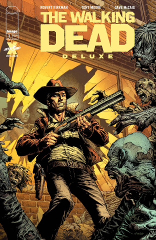 The Walking Dead Deluxe #1 (Finch & McCaig Cover)