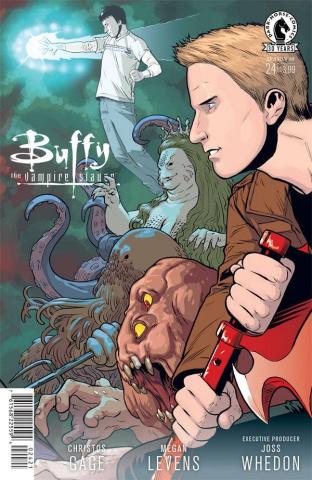 Buffy the Vampire Slayer, Season 10 #24 (Isaacs Cover)