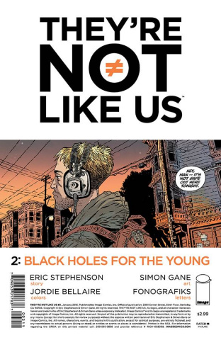 They're Not Like Us #2 (2nd Printing)