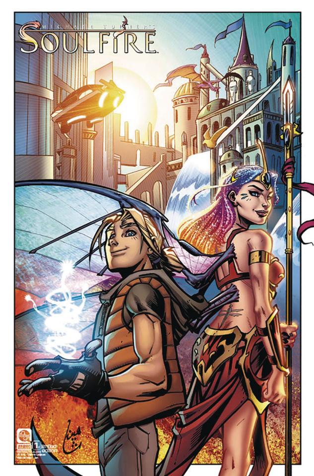 Soulfire #1 (12 Copy Ladjouze Cover)