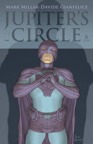 Jupiter's Circle #6 (Quitely Sketch Cover)