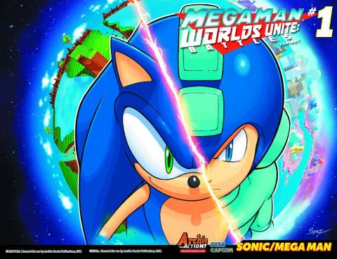 Mega Man: Worlds Unite Battles #1 (United Cover)