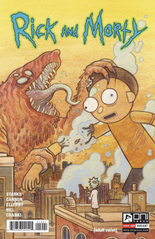 Rick and Morty #19 (Howard Cover)