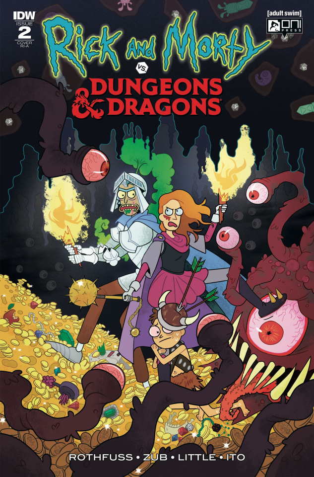 Rick and Morty vs. Dungeons & Dragons #2 (10 Copy Cover)