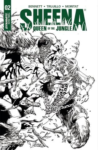 Sheena #2 (20 Copy Buchemi B&W Cover)