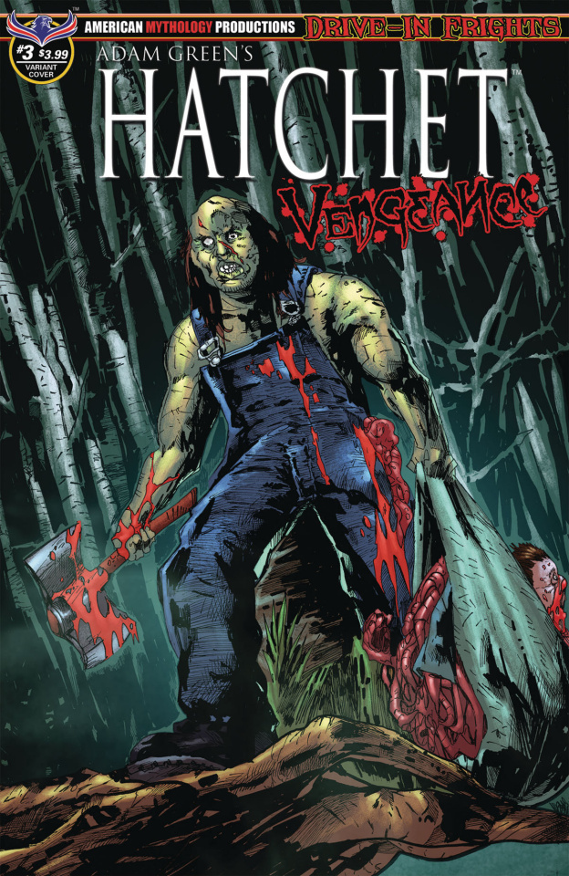 Hatchet: Vengeance #3 (Mandir Swamp Kill Cover)