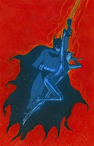 Batman / Catwoman #4 (Travis Charest Cover)