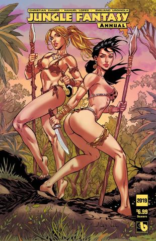 Jungle Fantasy Annual 2019 (Stunners Cover)