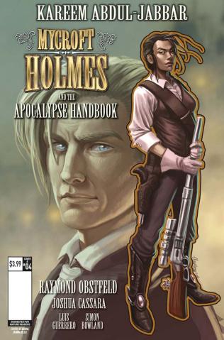 Mycroft Holmes #4 (Ianniciello Cover)