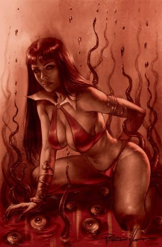 Vampirella #17 (21 Copy Parrillo Tint Virgin Cover)
