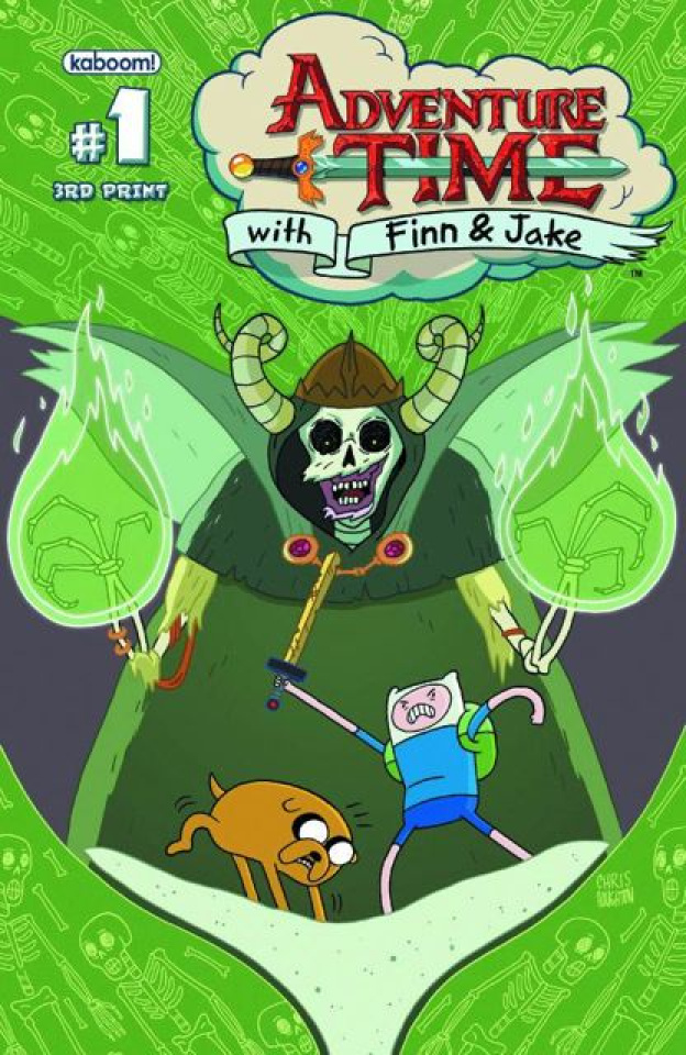 Adventure Time #1 (2nd Printing)