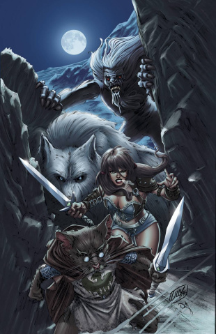 Grimm Fairy Tales: The Warlord of Oz #4 (Lilly Cover)