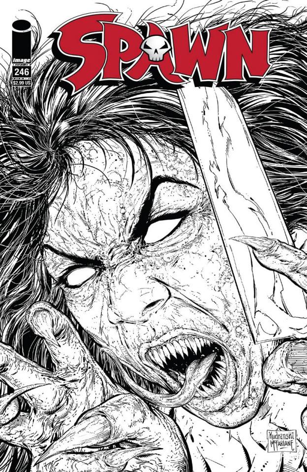 Spawn #246 (25 Copy Cover)