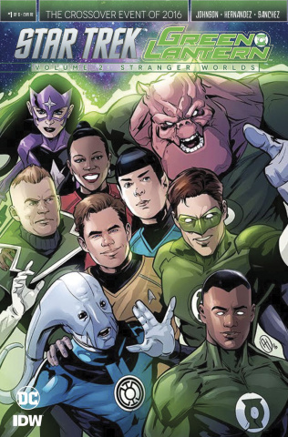 Star Trek / Green Lantern #1 (10 Copy Cover)