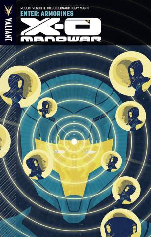 X-O Manowar Vol. 8: Enter: Armorines