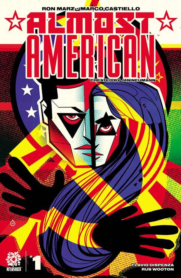 Almost American #1 (15 Copy Juan Doe Cover)