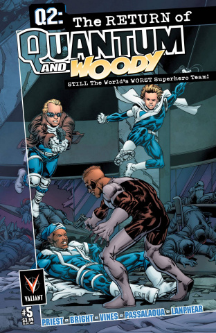 Q2: The Return of Quantum & Woody #5 (Bright Cover)