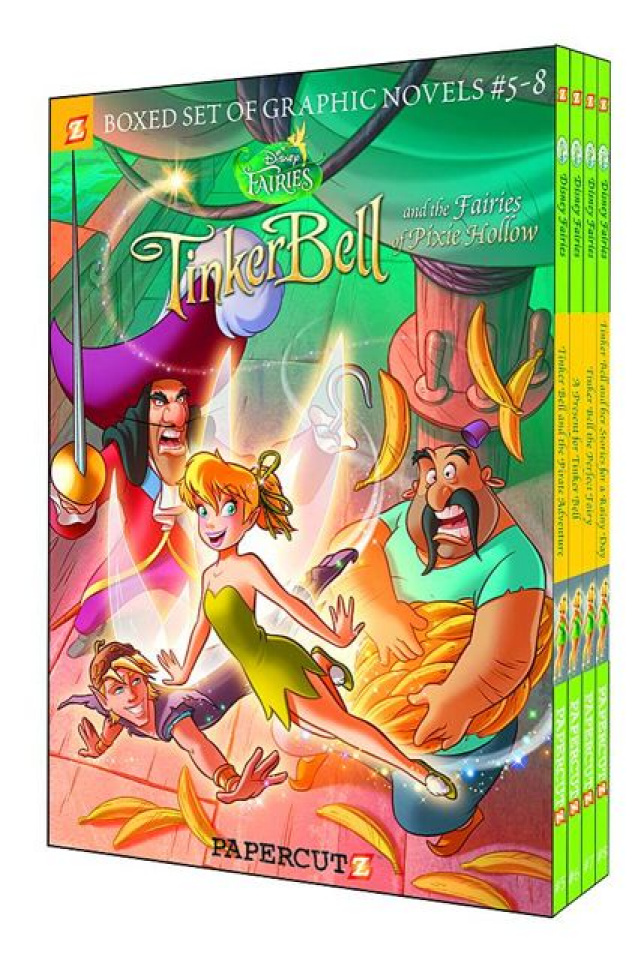 Disney's Fairies Vols. 5-8