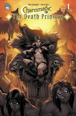 Charismagic: The Death Princess #1 (Lopez Cover)
