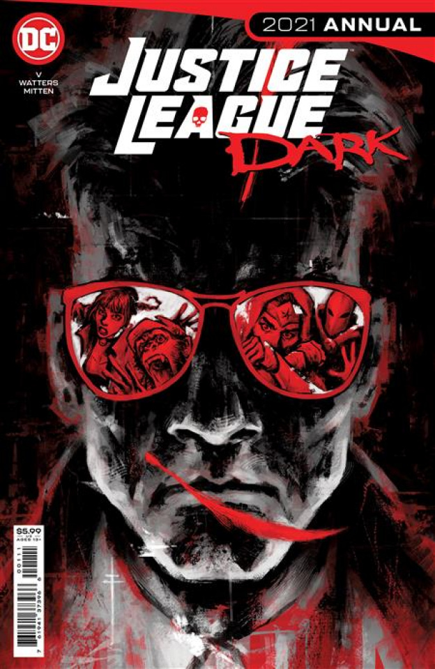 Justice League Dark 2021 Annual #1 (Sebastian Fiumara Cover)