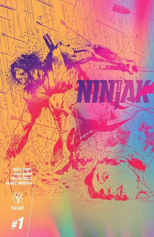 Ninjak #1 (10 Copy Hairsine & Muller Cover)