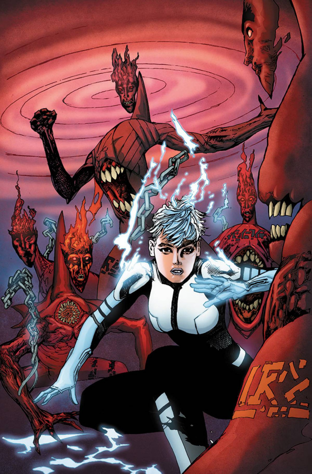 The Death-Defying Doctor Mirage #3 (Foreman Cover)