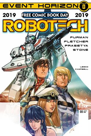 Robotech FCBD 2019