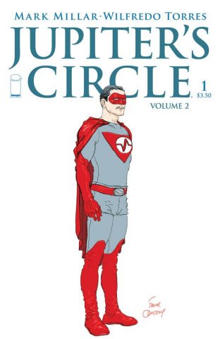 Jupiter's Circle #1 (Quitely Cover)