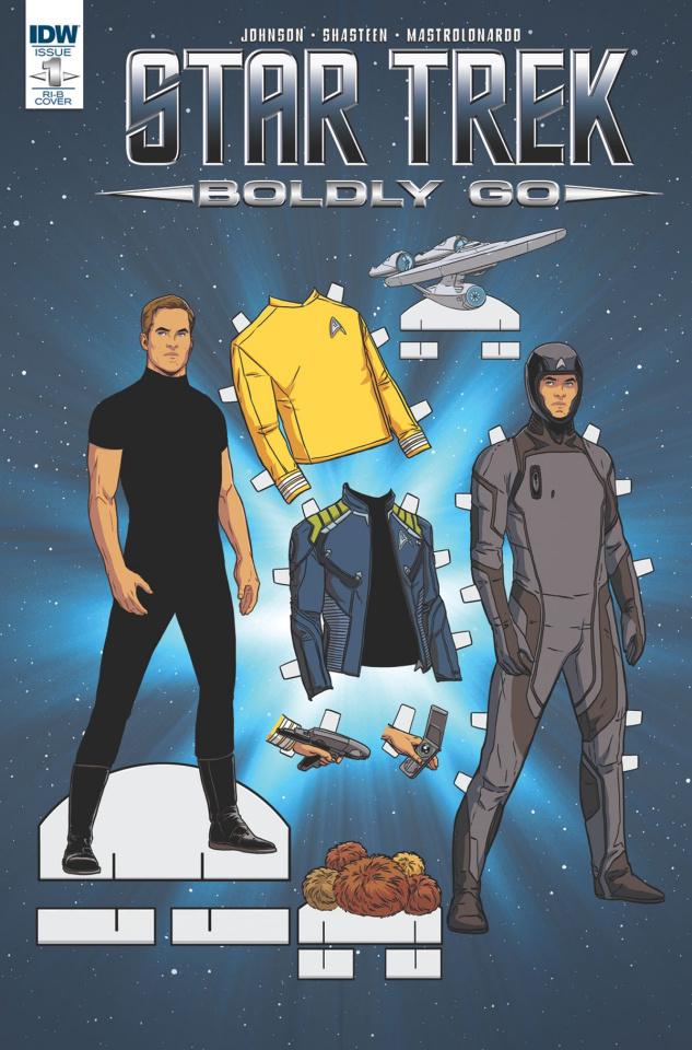 Star Trek: Boldly Go #1 (25 Copy Cover)