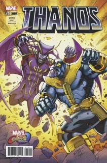Thanos #10 (Lim Marvel vs. Capcom Cover)