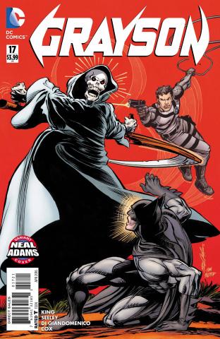 Grayson #17 (Neal Adams Cover)