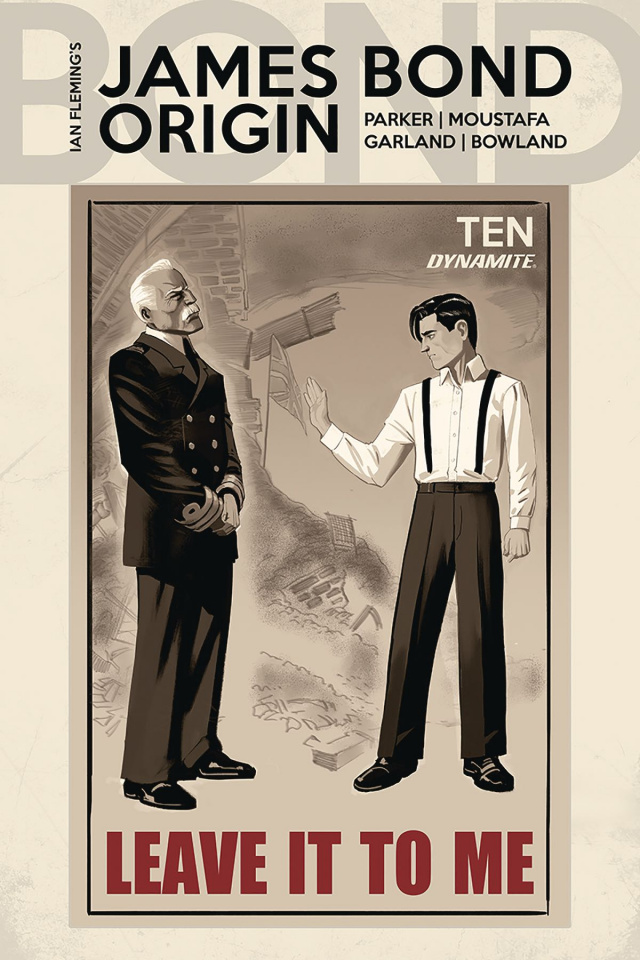James Bond: Origin #10 (Bob Q Cover)