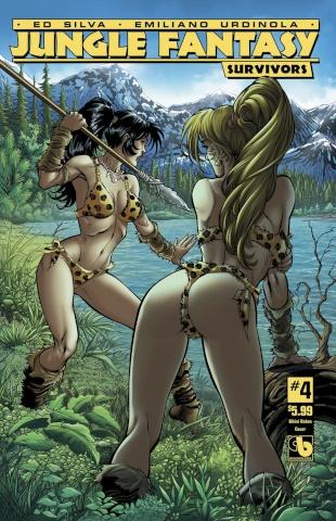 Jungle Fantasy: Survivors #4 (Bikini Babes Cover)