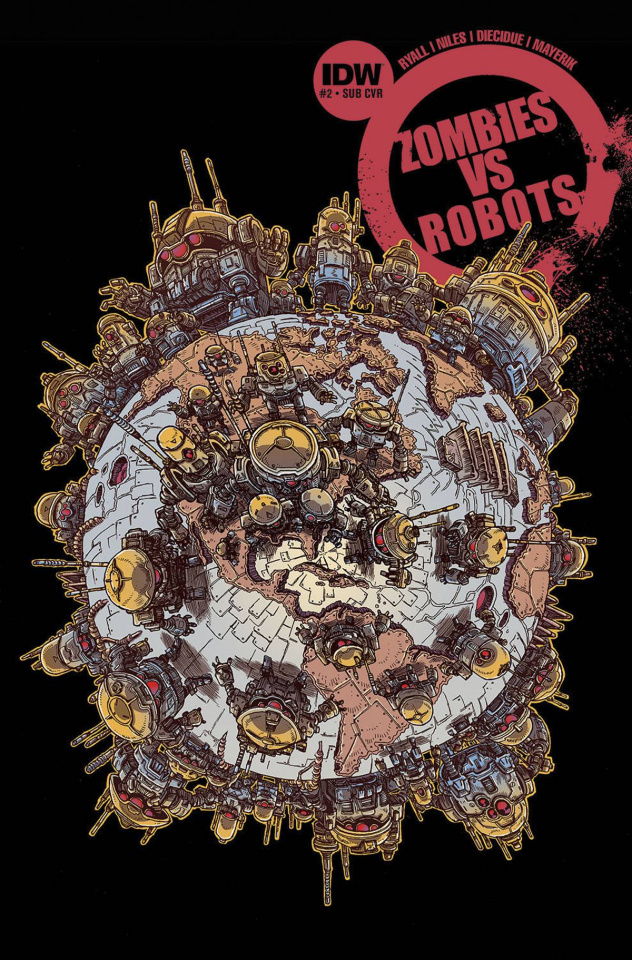 Zombies vs. Robots #2 (Subscription Cover)