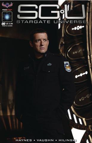 Stargate Universe #6 (Photo Cover)