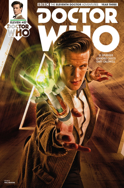 Doctor Who: New Adventures with the Eleventh Doctor, Year Three #7 (Photo Cover)