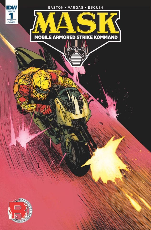 M.A.S.K.: Mobile Armored Strike Kommand #1 (50 Copy Cover)
