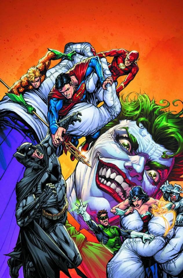 Justice League of America #1 (The Joker Variant)