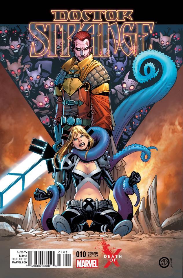 Doctor Strange #10 (Broccardo Death of X Cover)
