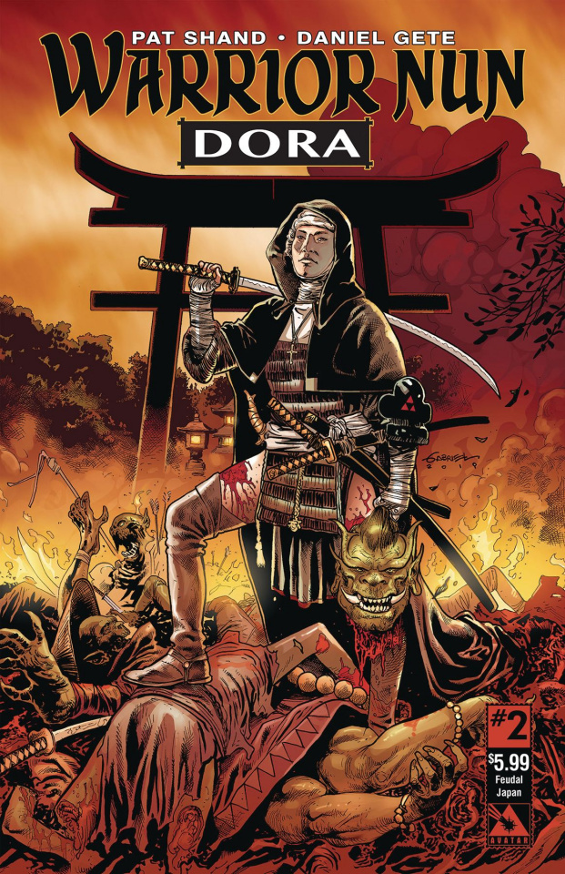 Warrior Nun: Dora #2 (Feudal Age Cover)