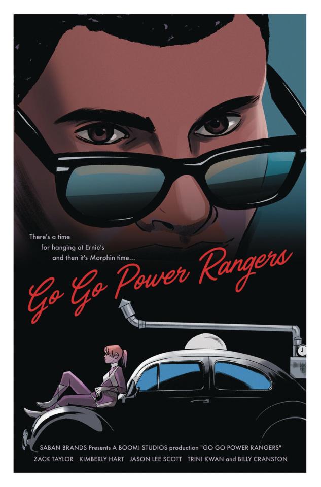 Go, Go, Power Rangers! #10 (25 Copy Bustos Cover)
