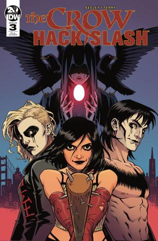 The Crow / Hack/Slash #3 (10 Copy Isaacs Cover)