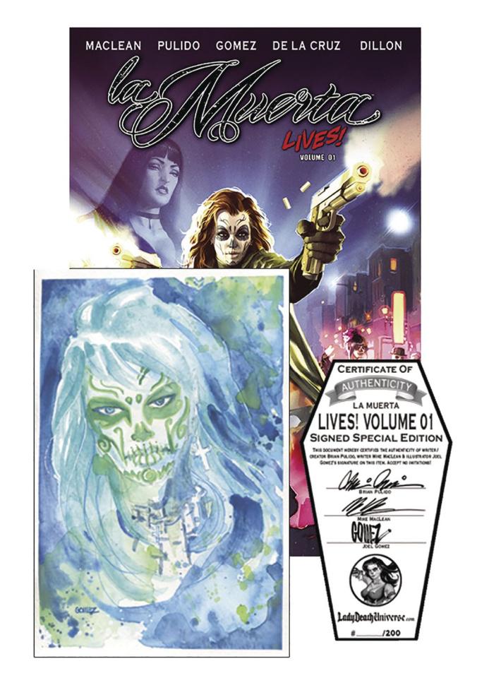 La Muerta Lives! Vol. 1 (Signed Special Edition)