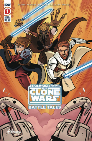 Star Wars Adventures: The Clone Wars #1 (2nd Printing)