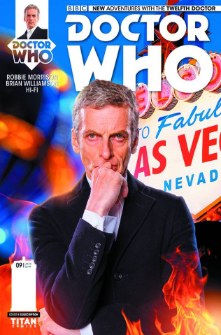 Doctor Who: New Adventures with the Twelfth Doctor #9 (Subscription Photo Cover)