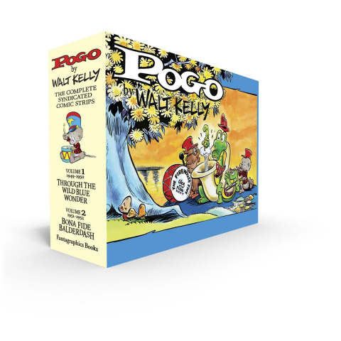 Pogo: The Complete Syndicated Comic Strips Vols. 1 & 2 (Box Set)