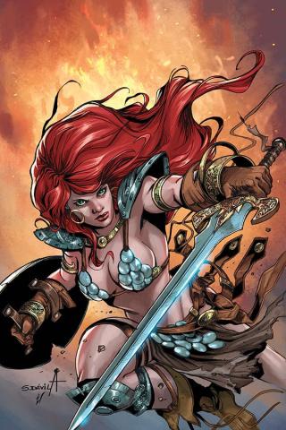 Red Sonja: Birth of the She-Devil #3 (10 Copy Davila Virgin Cover)