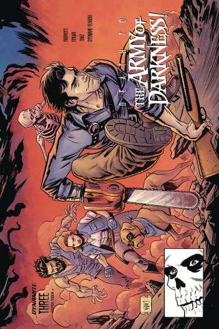 Death to the Army of Darkness #3 (Gorham Homage Cover)