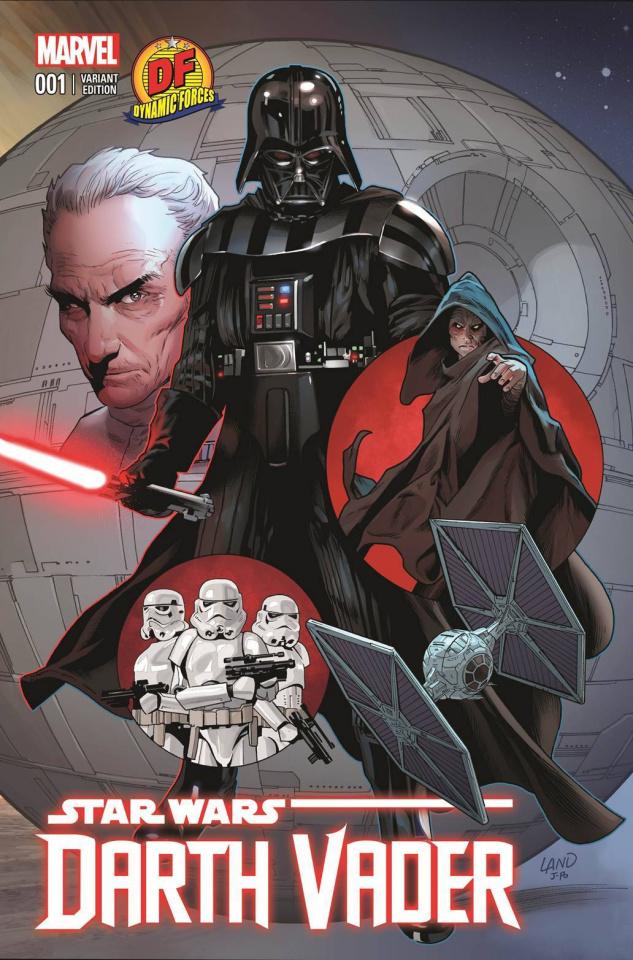 Darth Vader #1 (Greg Land Cover)